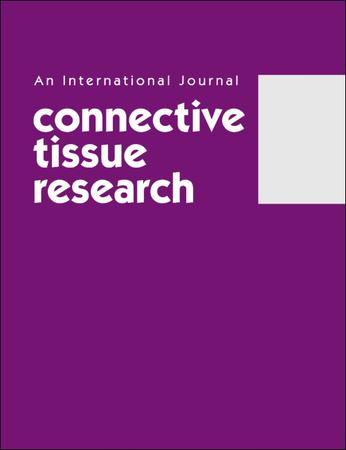 Image result for connective tissue research journal