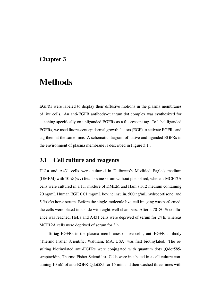 Example of Template for UCL Thesis format