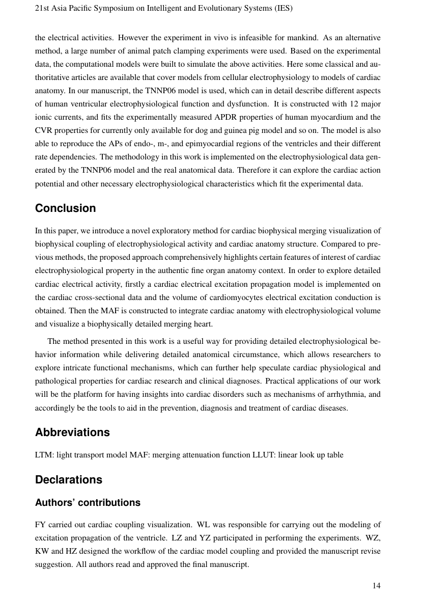 Example of International Journal of Systems Biology and Biomedical Technologies (IJSBBT) format