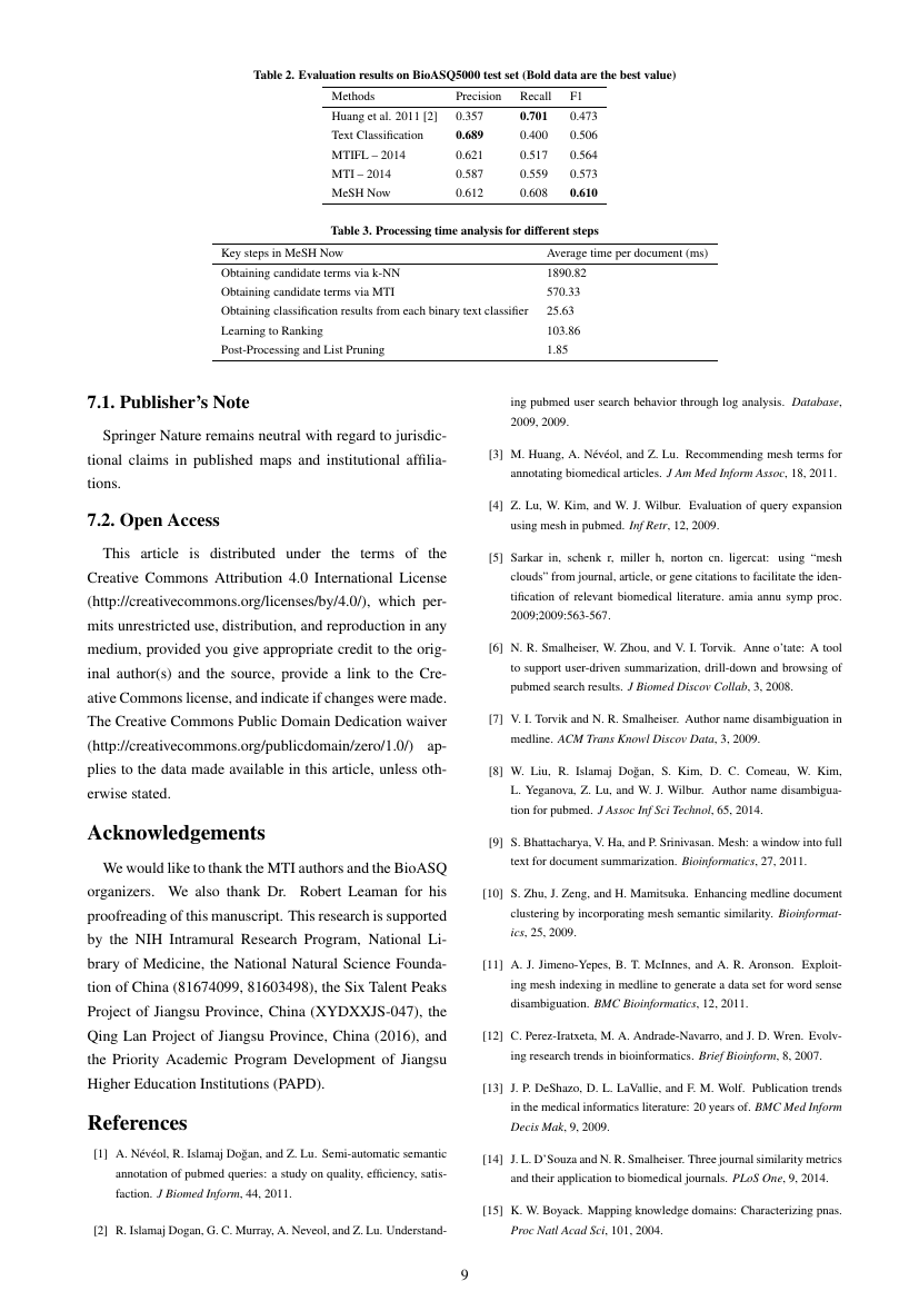 Example of Journal of Ocean Research format