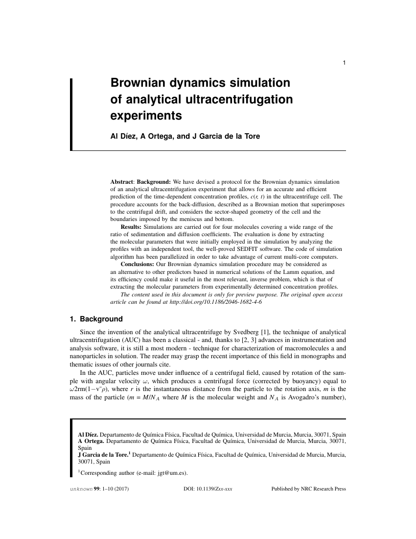 Example of Canadian Journal of Fisheries and Aquatic Sciences format