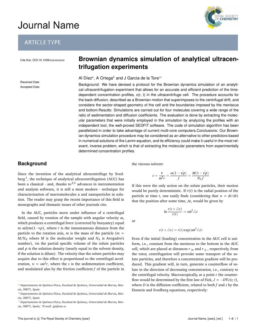 Example of Environmental Science: Nano format