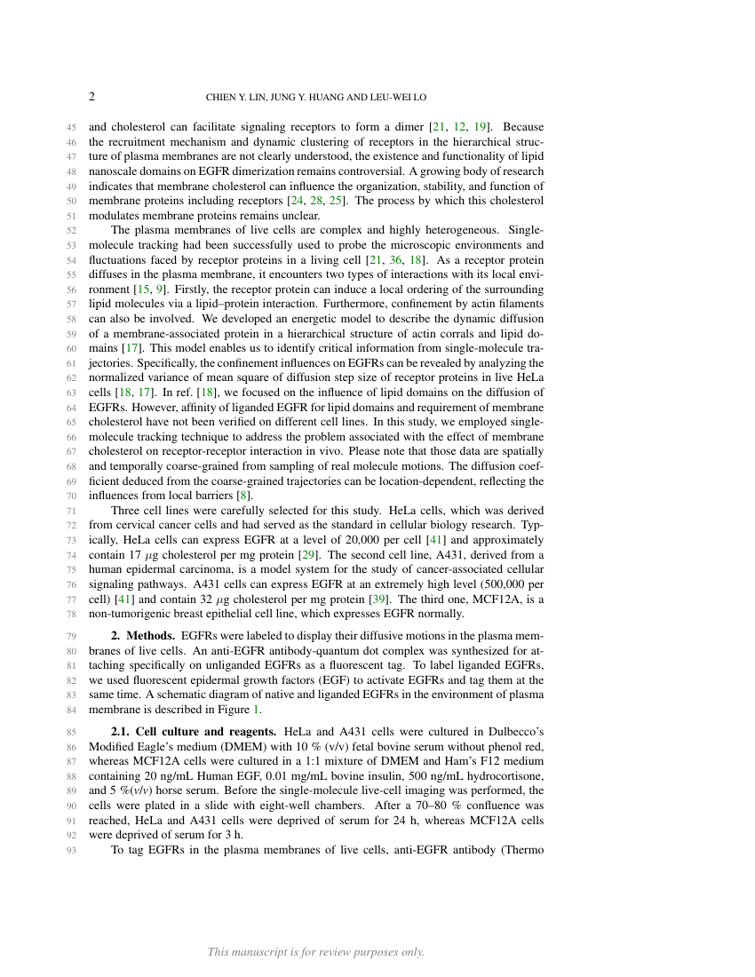 Example of Format for Society for Industrial and Applied Mathematics Articles format