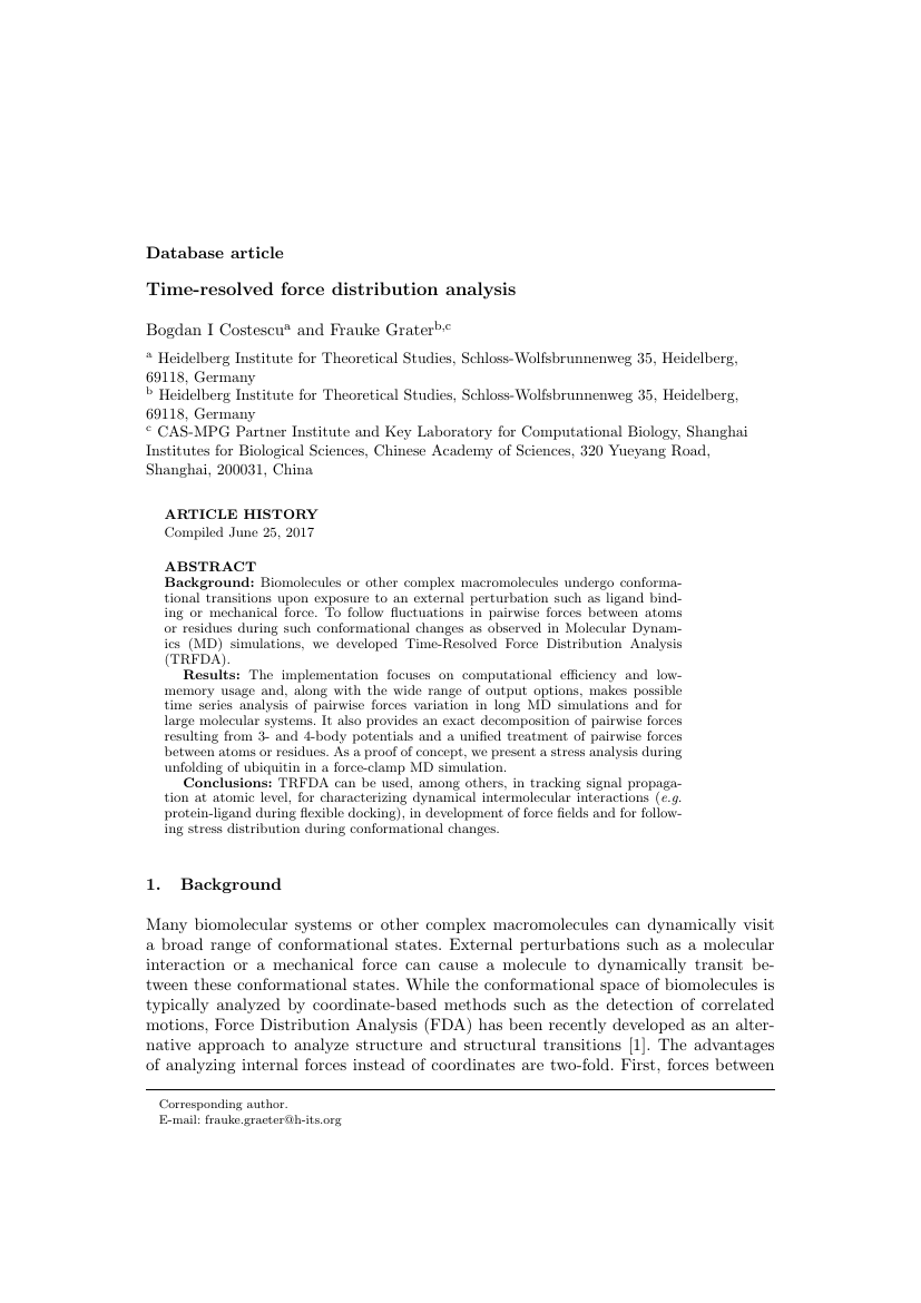 Example of International Journal of Environmental Studies format