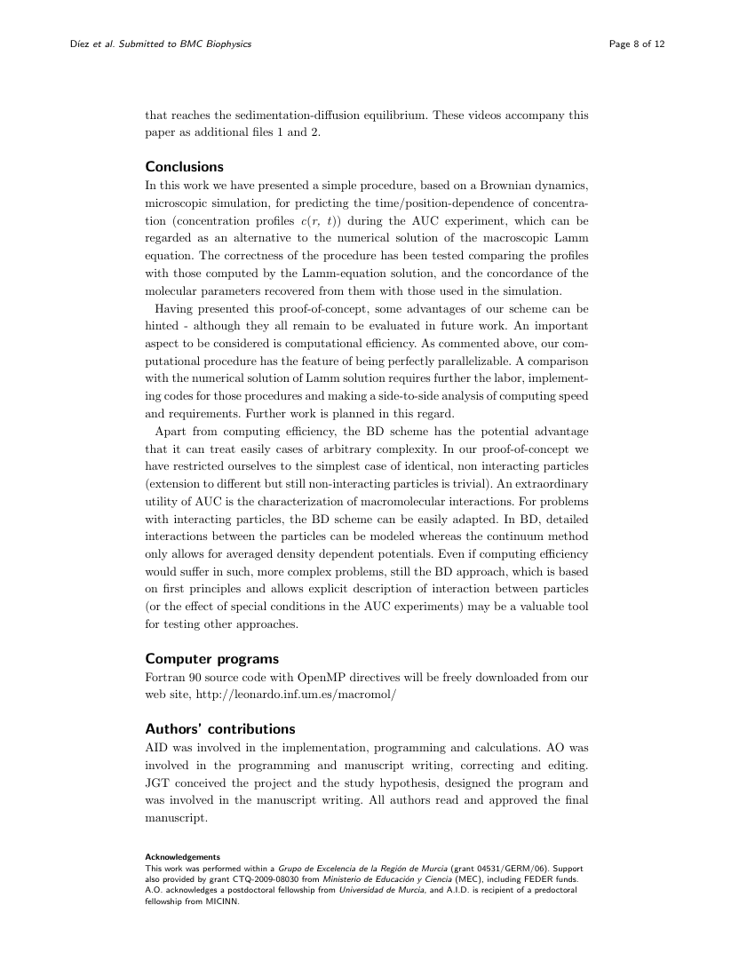 Example of Implementation Science - short report format