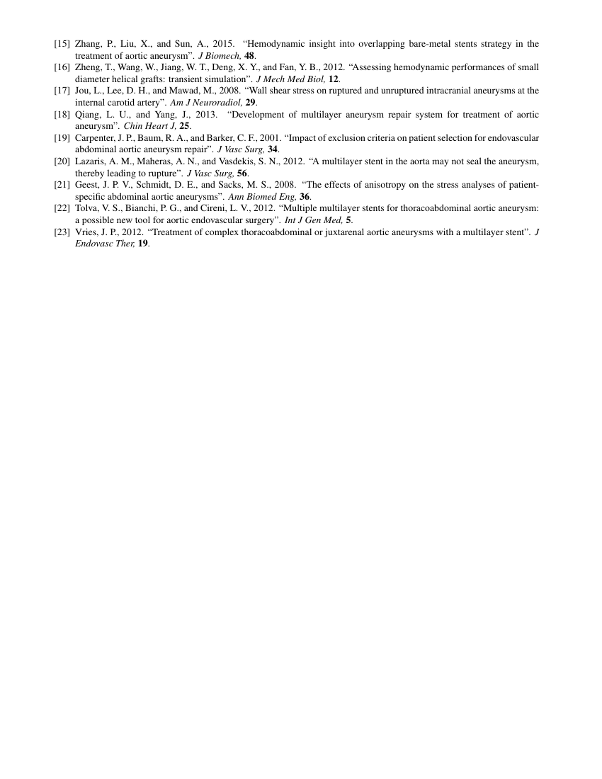 Example of Journal of Heat Transfer format