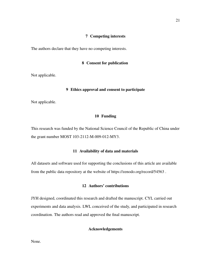 Example of History - Thesis/Dissertation Template format