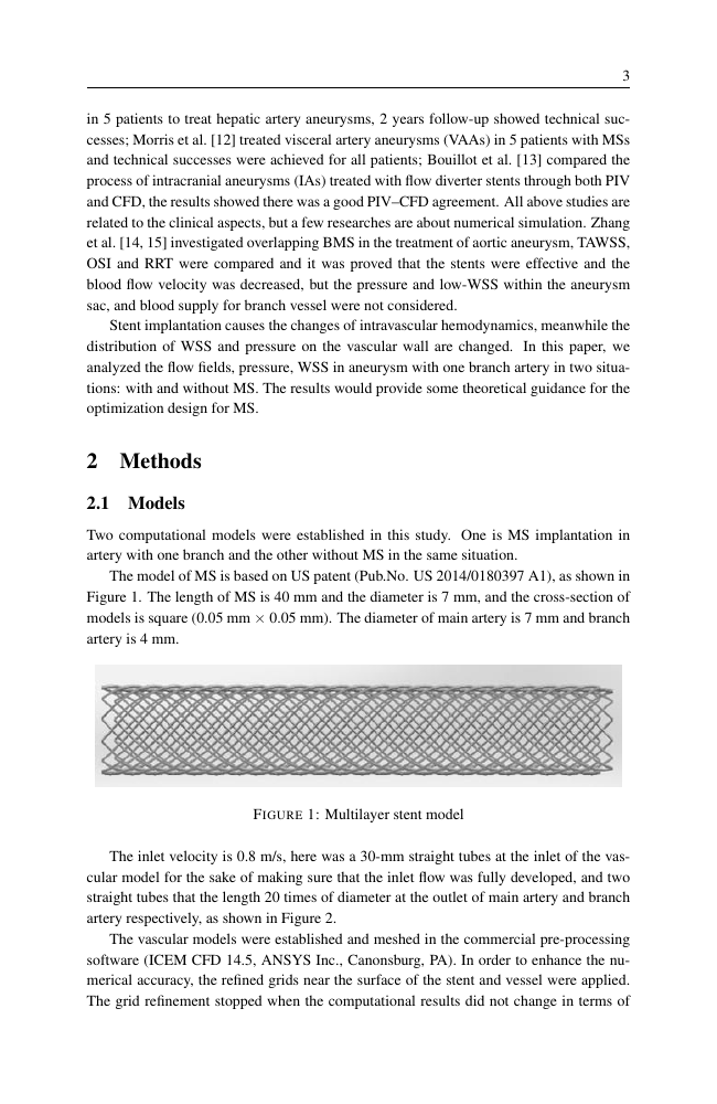 Example of Security Journal format