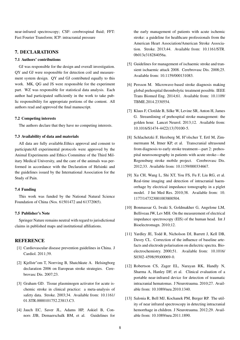 Example of International Journal of Heat and Technology (IJHT) format
