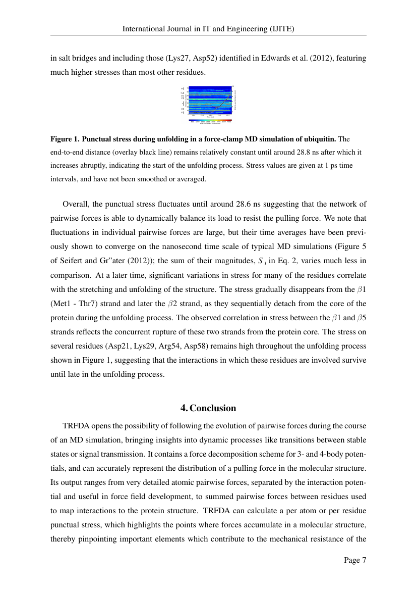 Example of International Journal in IT and Engineering (IJITE) format