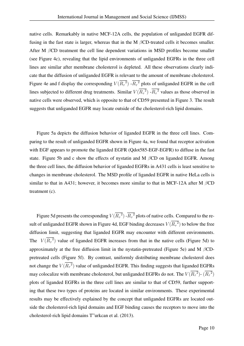 Example of International Journal in Management and Social Science (IJMSS) format