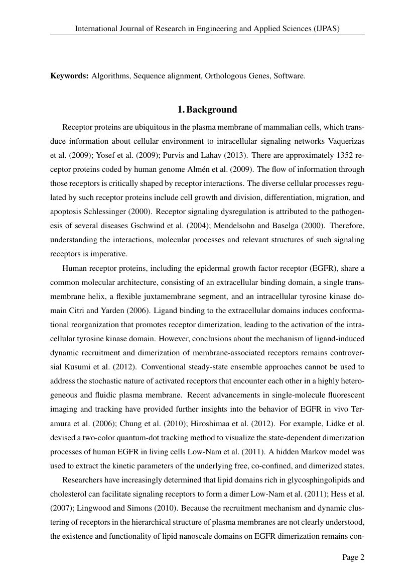 Example of International Journal of Research in Engineering and Applied Sciences (IJPAS) format