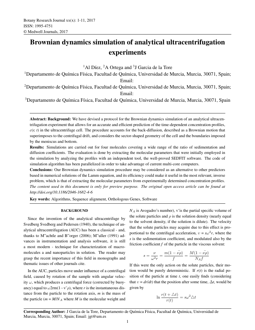 research journal template