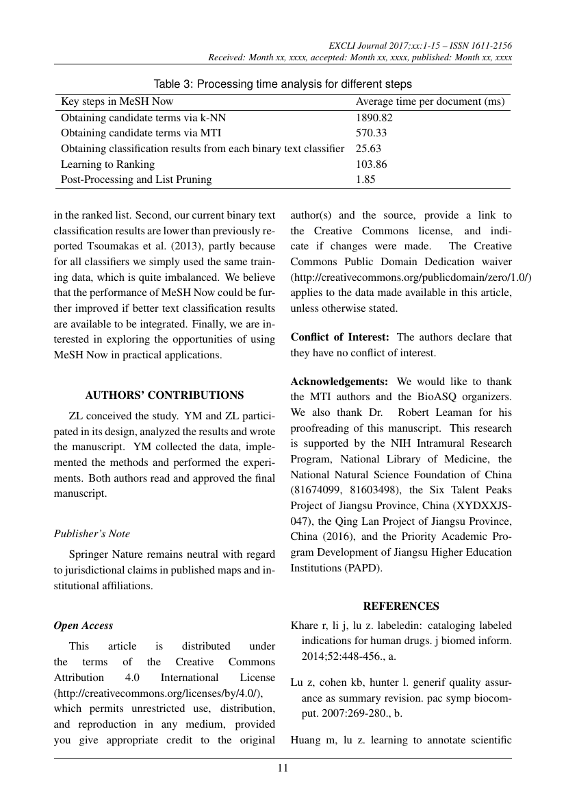 Example of EXCLI Journal format