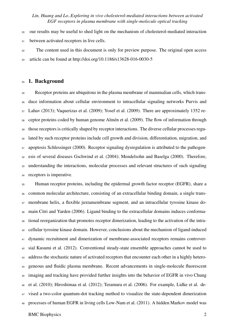 Example of Journal of Wildlife Research format