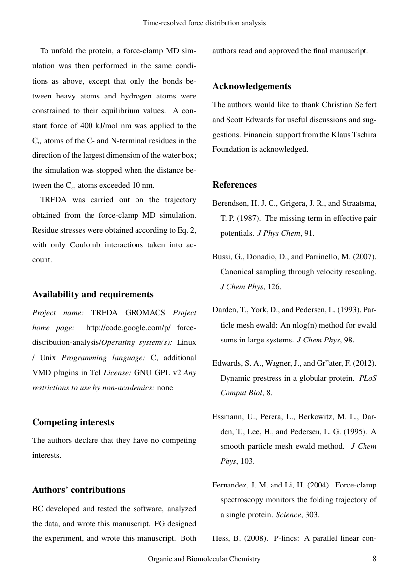 Example of Journal of Sustainability Science and Management format