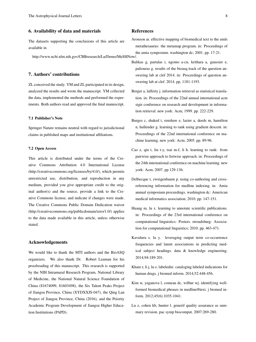 Example of International Journal of Marketing and Business Communication format