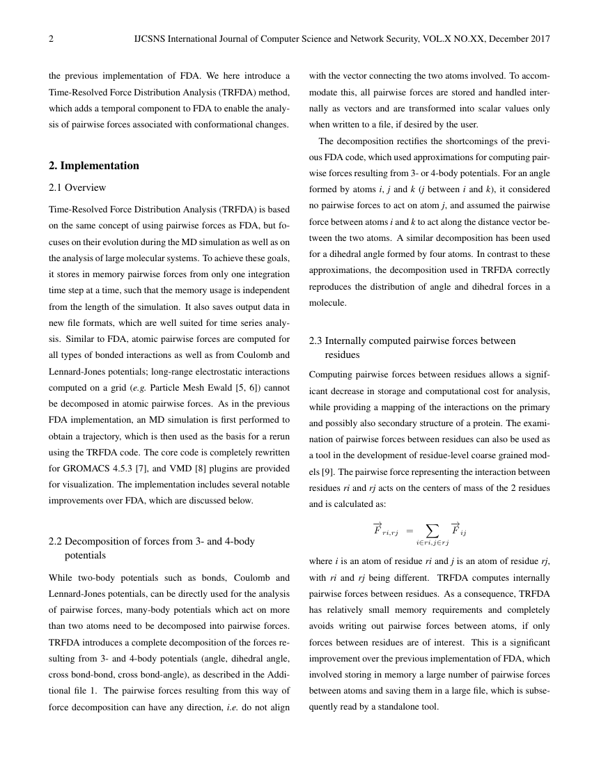 Example of International Journal of Computer Science and Network Security format