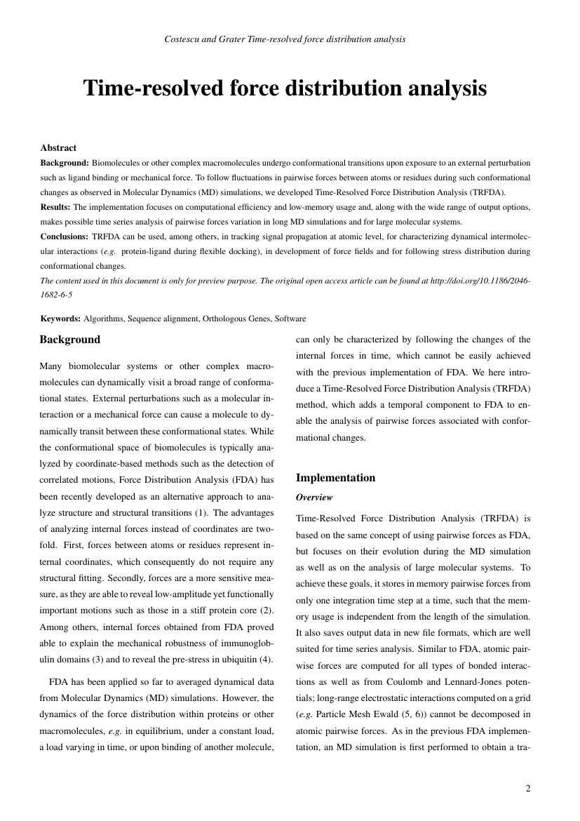Example of Iranian Journal of Public Health format