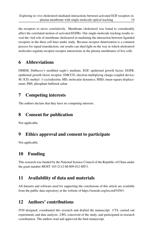 Example of Social Enterprise Journal format