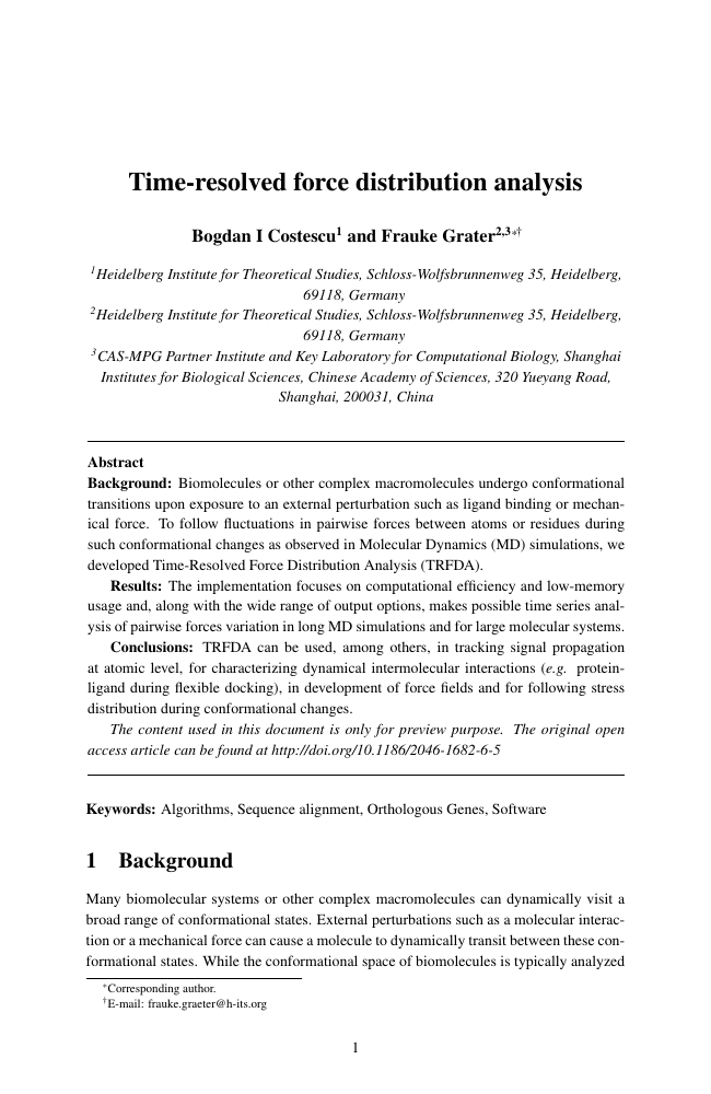 Example of Journal of Documentation format