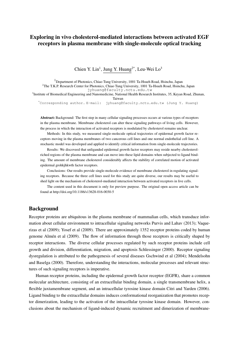 Example of Asian Journal of University Education format