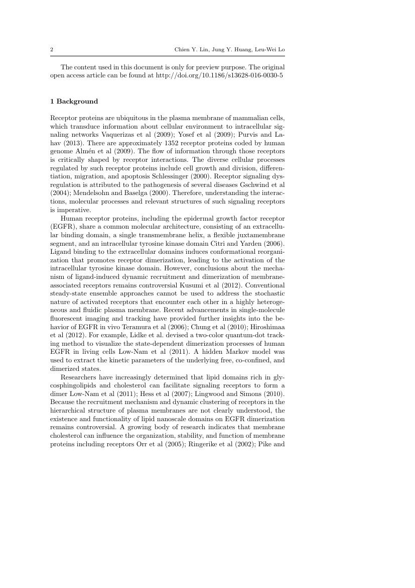 Example of International Journal of Environmental Science and Technology format