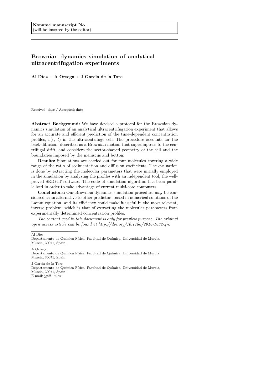 Example of International Journal of STEM Education format