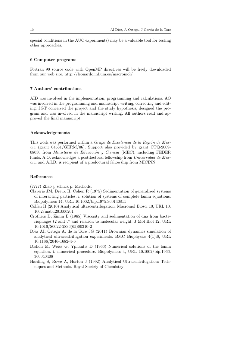Example of Economic Theory Bulletin format