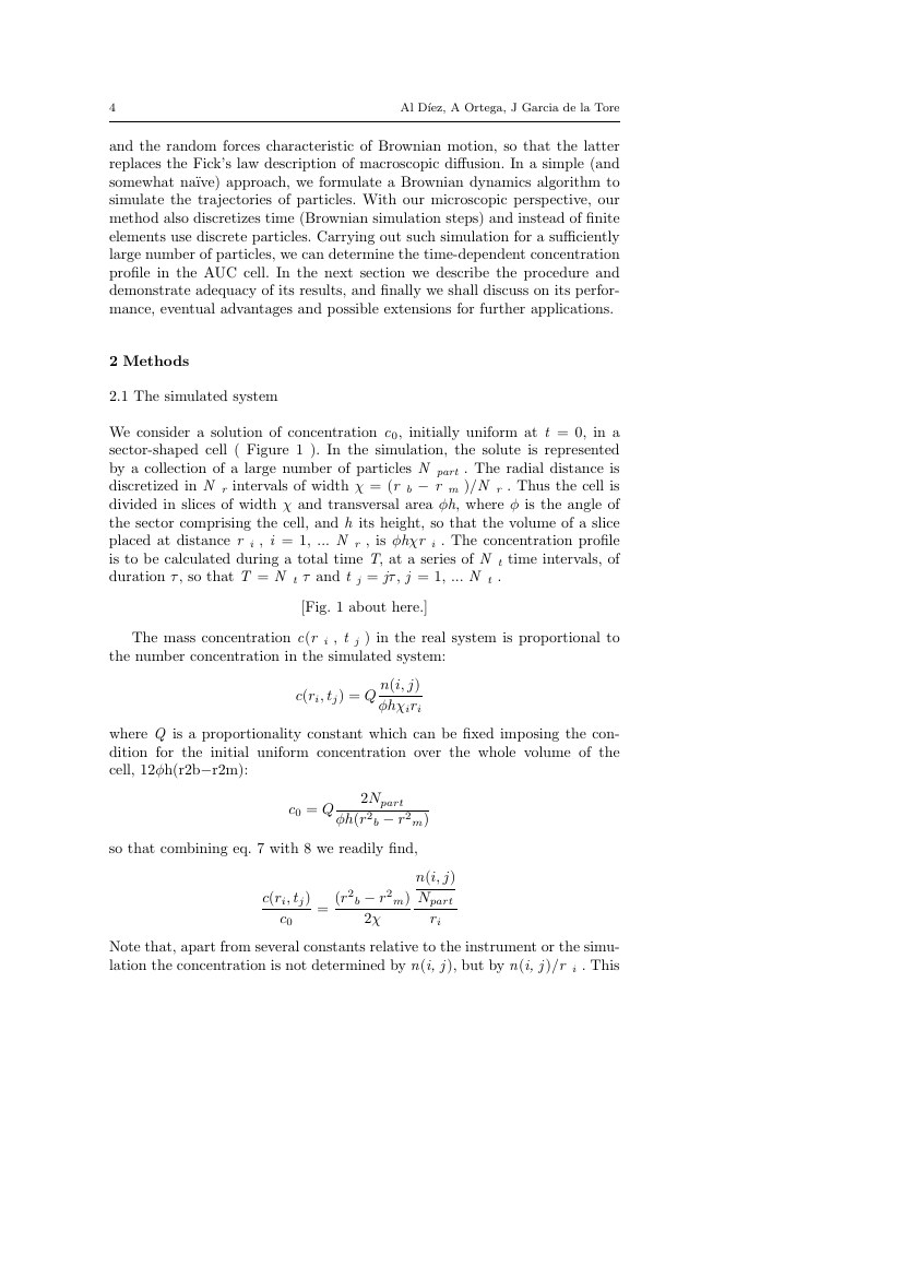 Example of Nonlinear Differential Equations and Applications NoDEA format