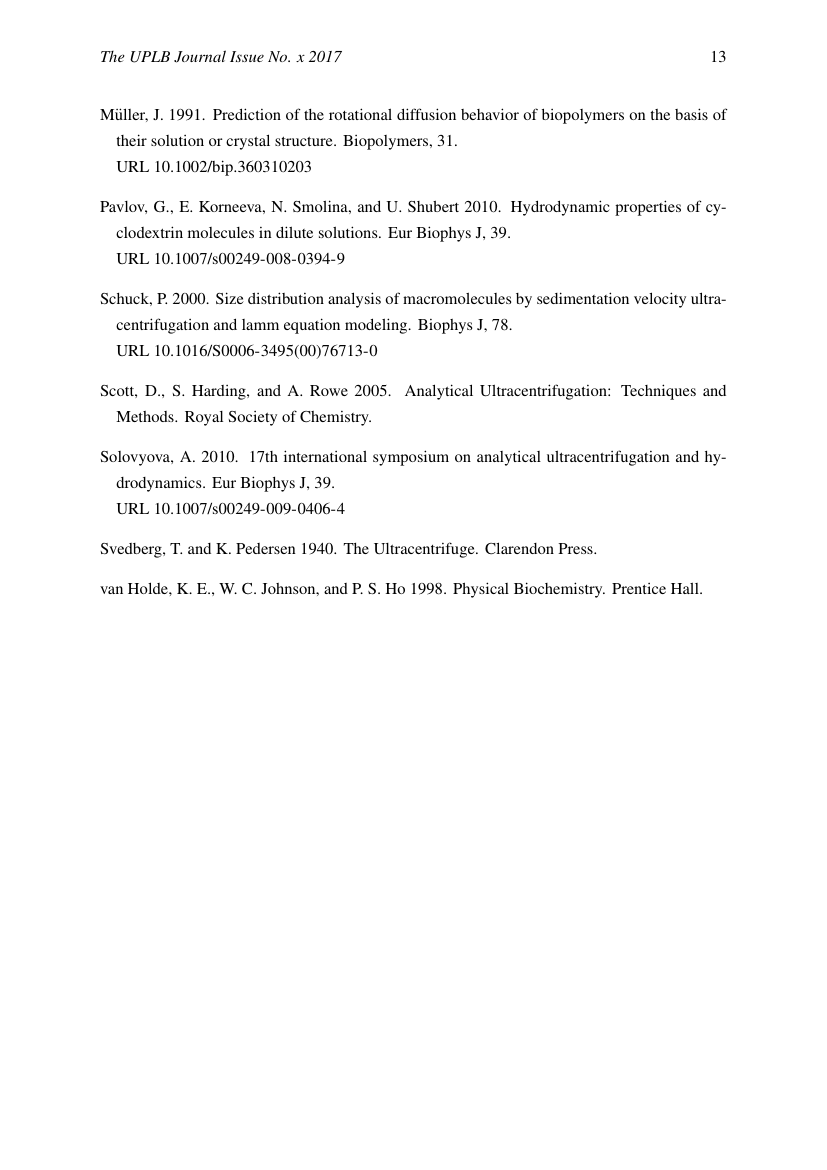 Example of Journal of Environmental Science and Management format
