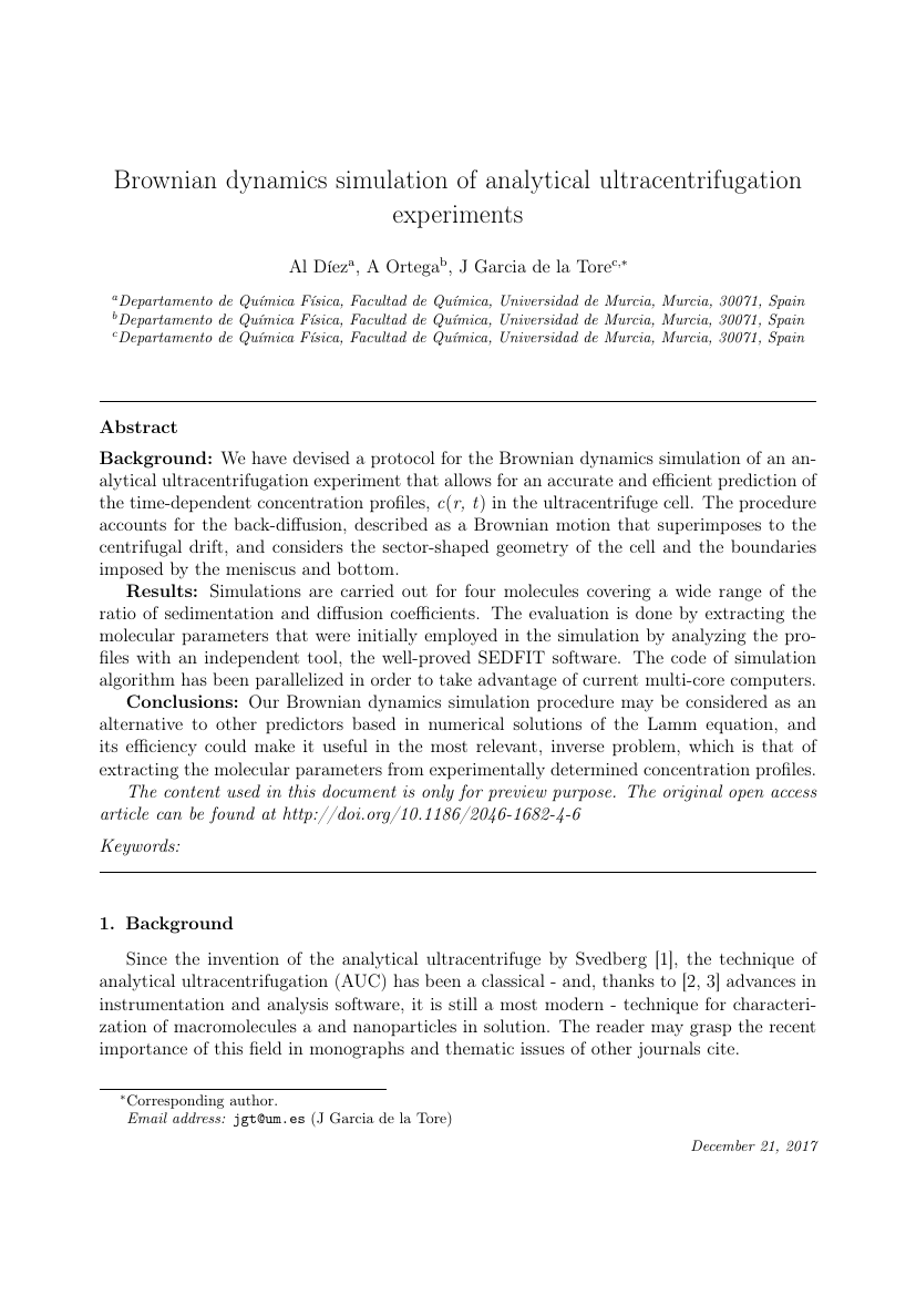 Example of Journal of Process Control format
