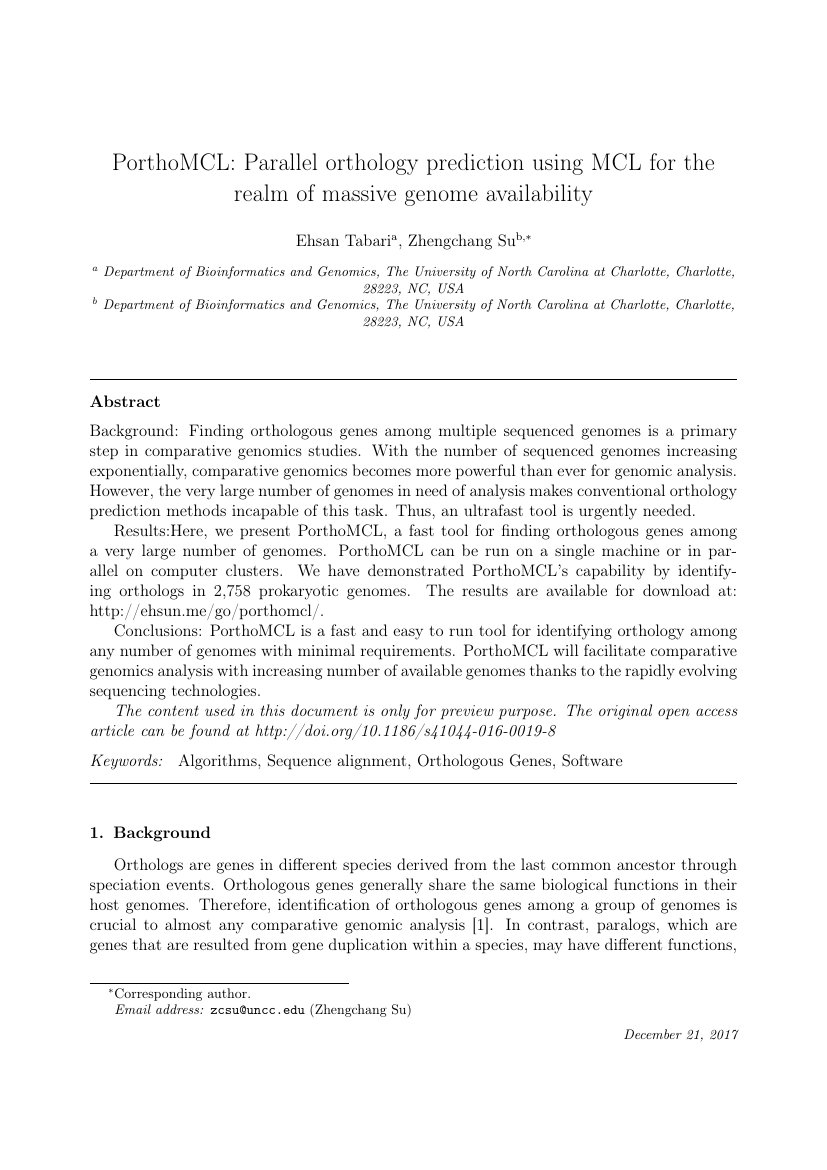 Example of Chinese Journal of Physics format
