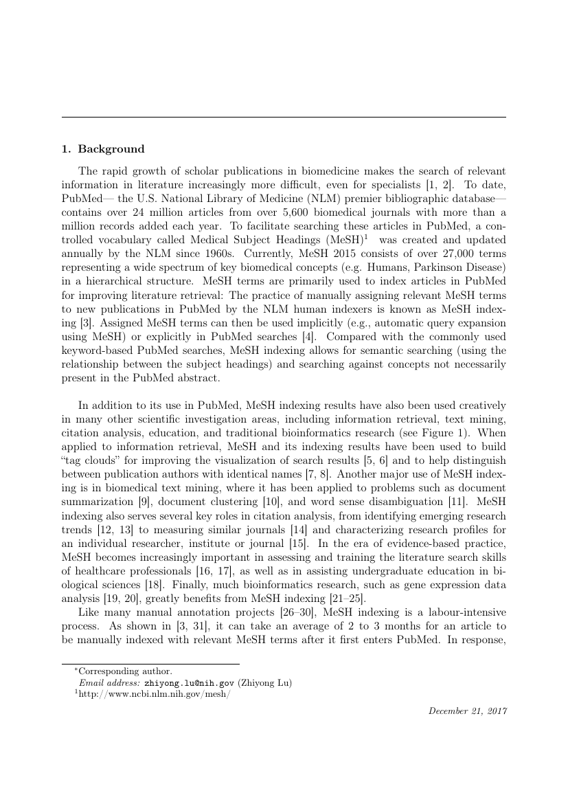 Example of Journal of Medical Colleges of PLA format