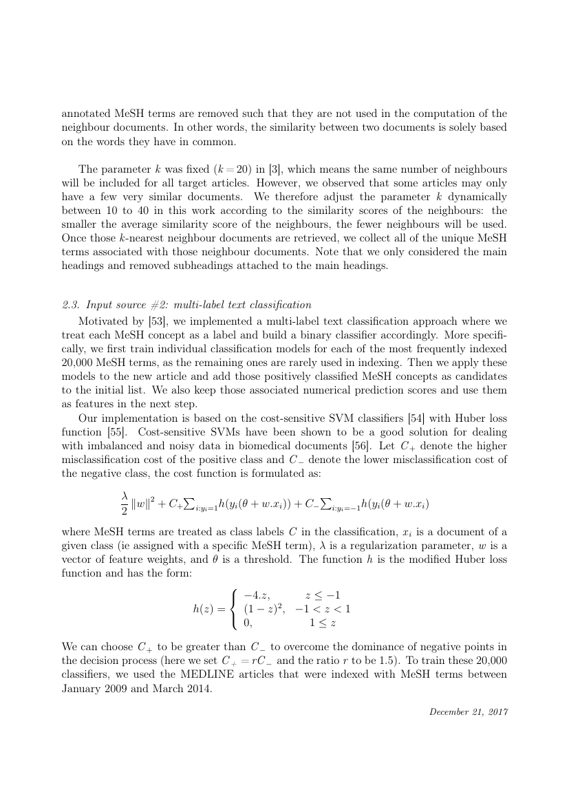 Example of Applied Mathematical Modelling format