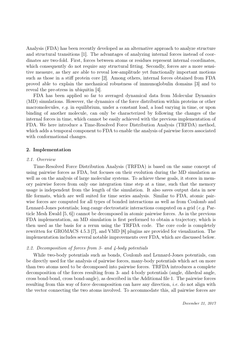 Example of Journal of Computational Physics format