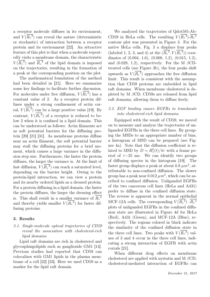 Example of The Egyptian Journal of Remote Sensing and Space Science format