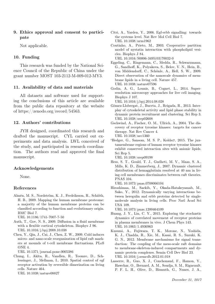 Example of Beni-Suef University Journal of Basic and Applied Sciences format