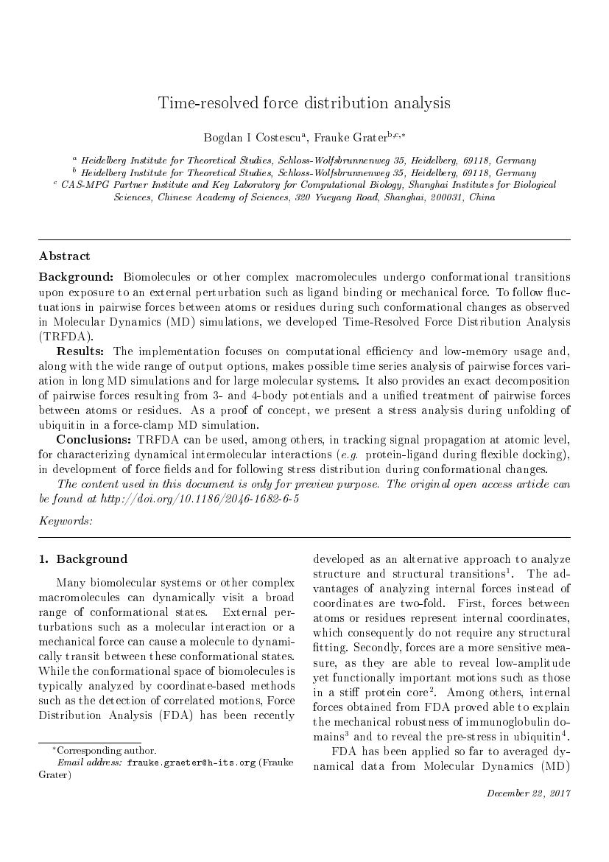 Example of Chinese Journal of Aeronautics format