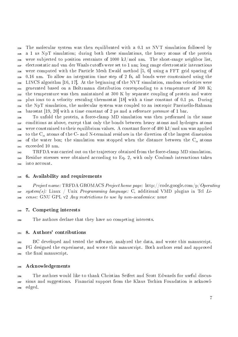 Example of Journal of Chromatography A format