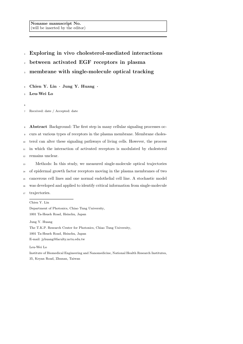 Example of EURASIP Journal on Embedded Systems format