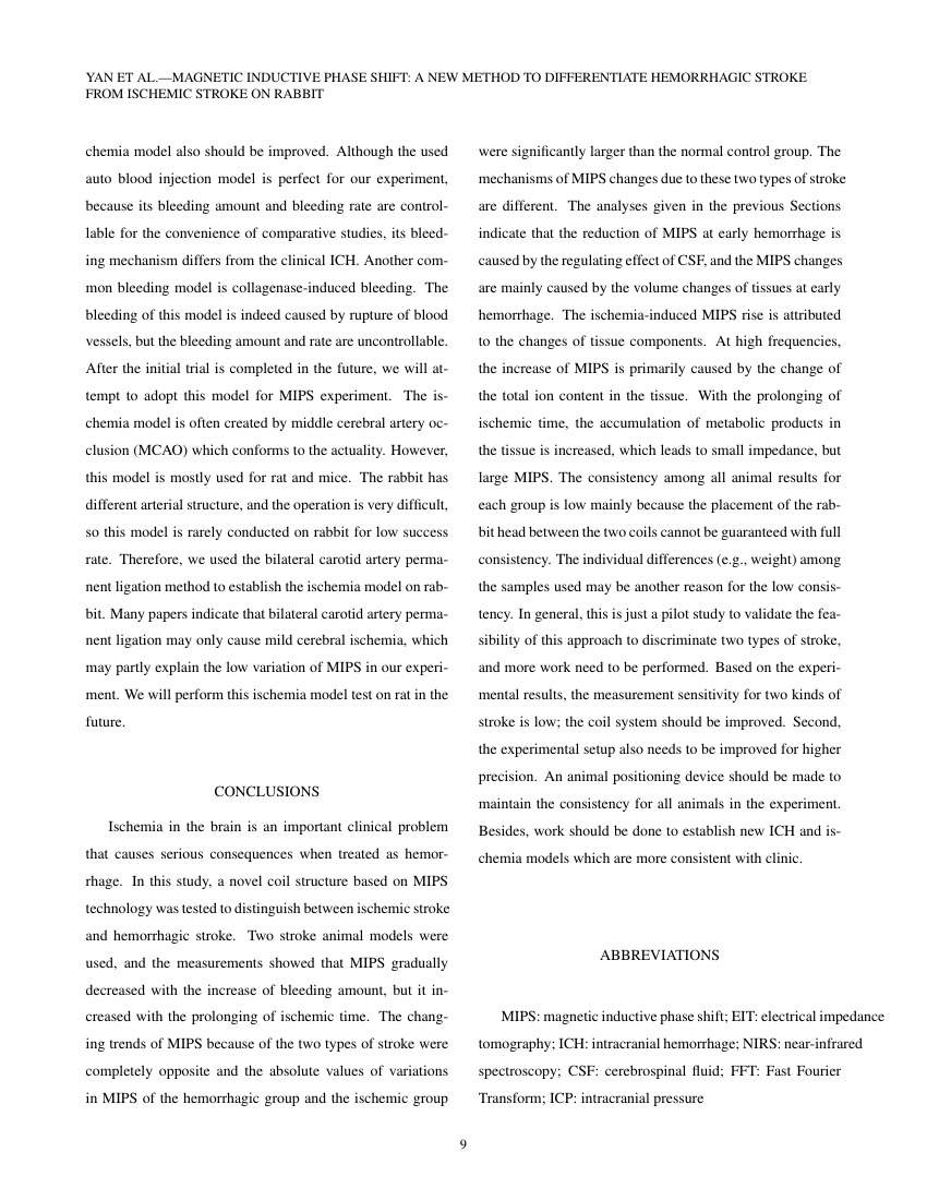 Example of Journal of Arachnology format