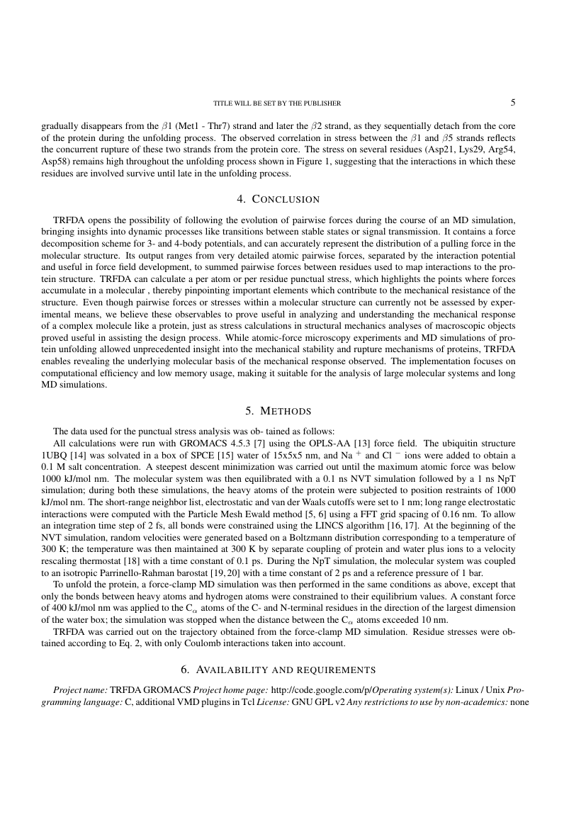 Example of Mathematical Modelling of Natural Phenomena format