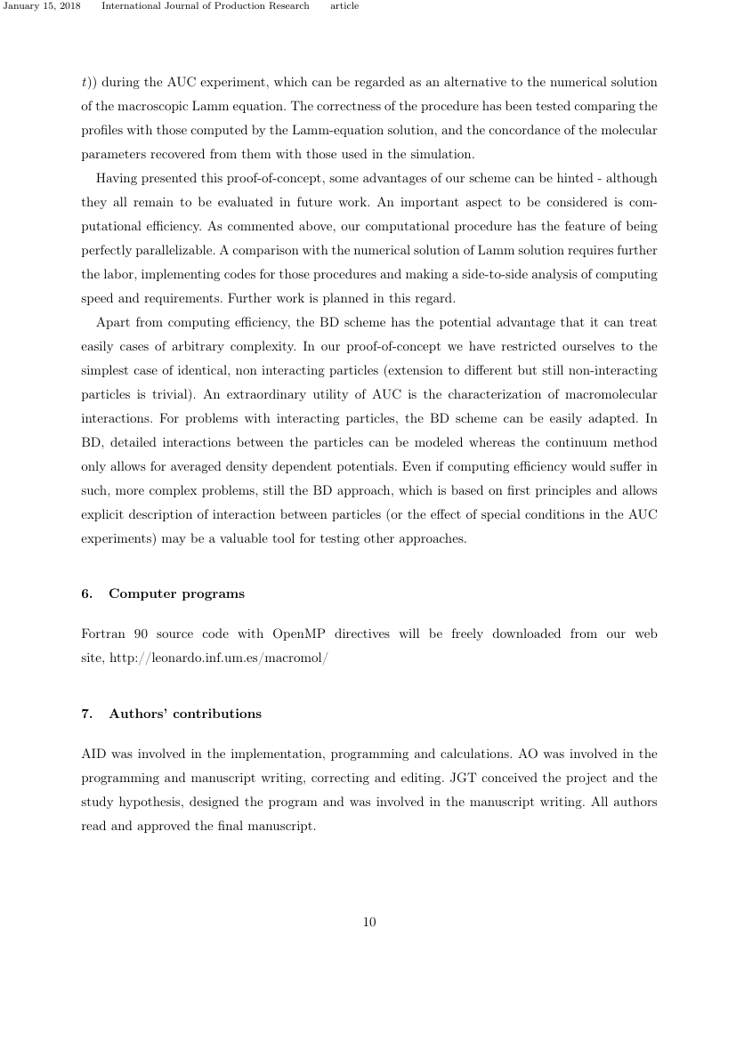 Example of International Journal of Production Research format