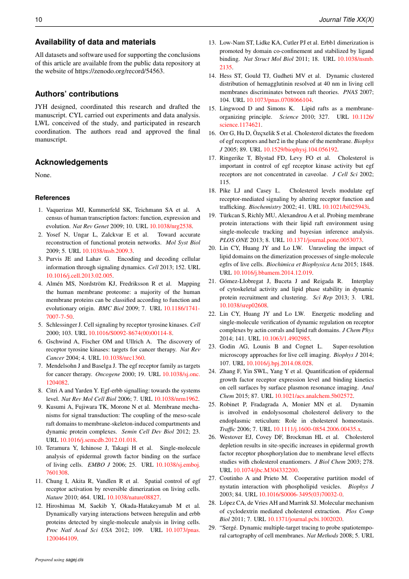 Example of Journal of Composite Materials format