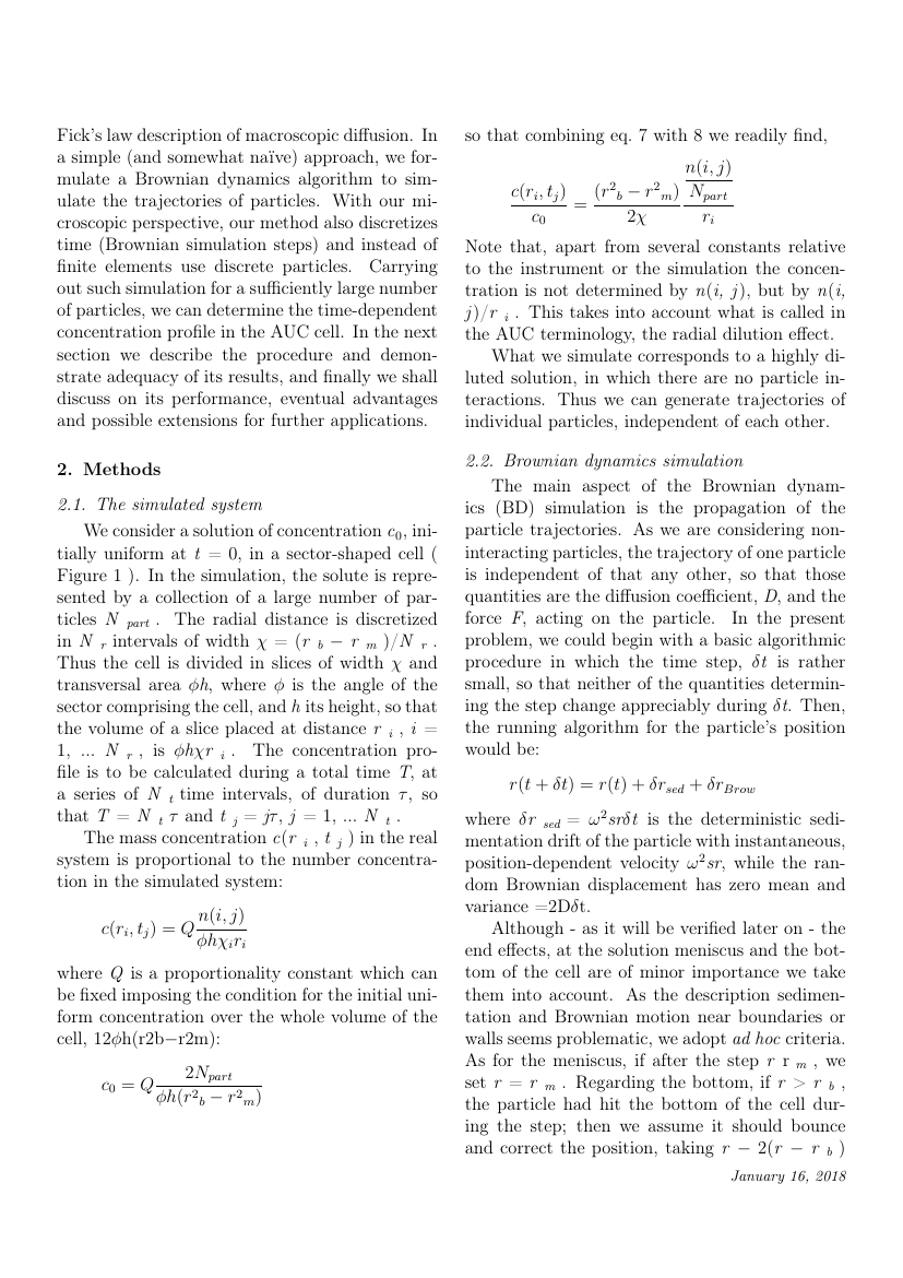 Example of Journal of Colloid and Interface Science format