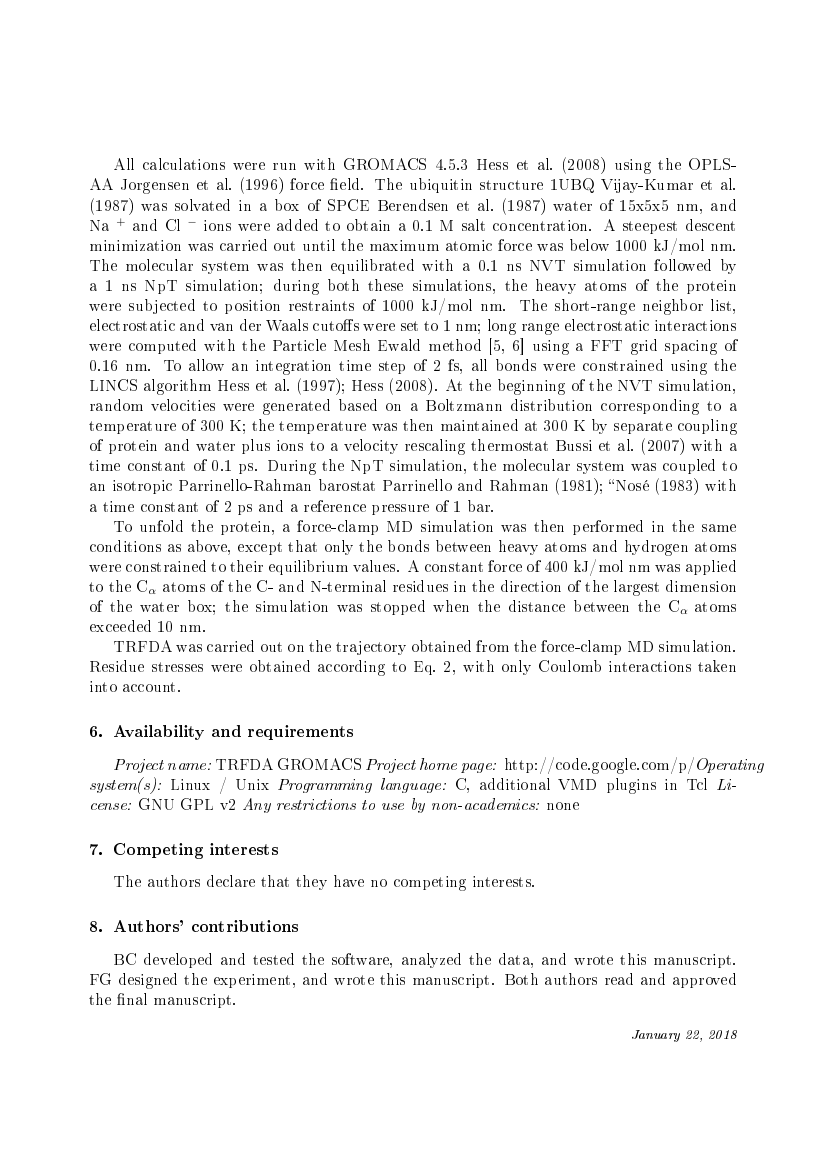 Example of Engineering Science and Technology, an International Journal format