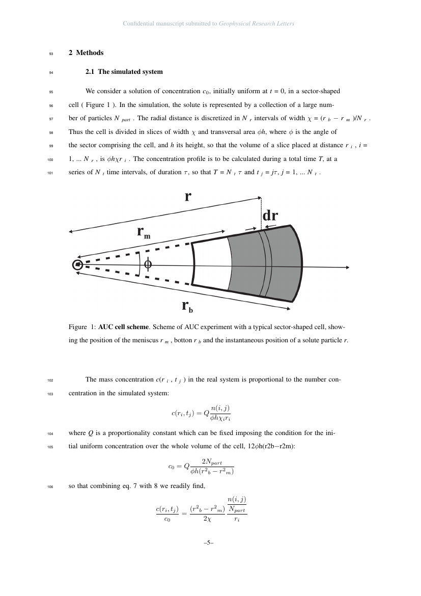 Example of Geophysical Research Letters format