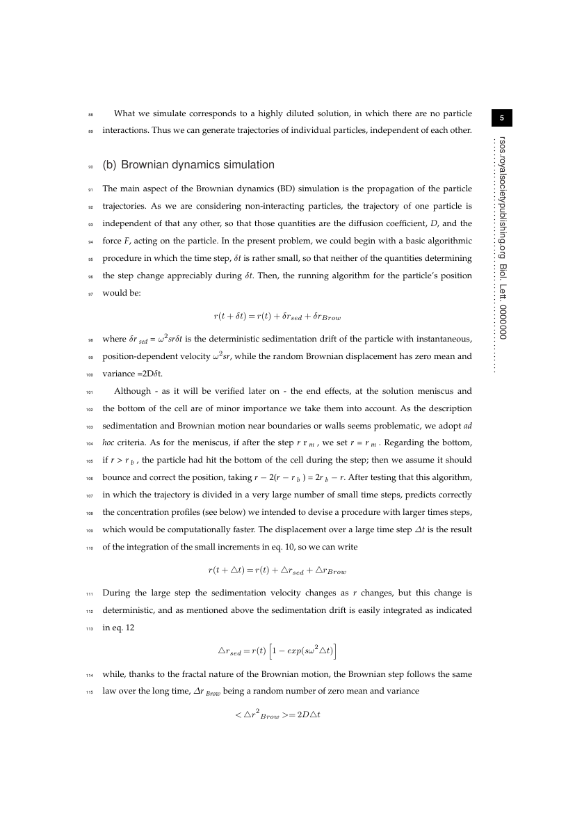Example of Biology Letters format