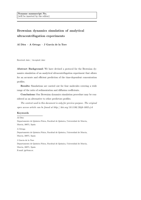 Springer - Nano Research Template